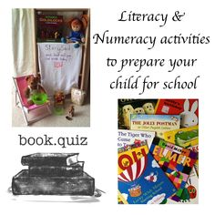 Do you have a child starting school this year? These literacy & numeracy activities will help to prepare your child for school.