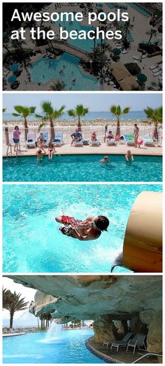 Check out these awesome pools along the Alabama and Florida Gulf Coast.