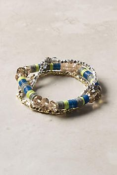 Anthropologie has the CUTEST little bracelets in their May catalog.  Perfect way to add a bit of sparkle to your summer look!