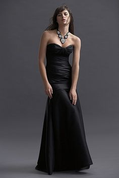 Watters Maids Dress 5710 - I want to try it on and see how it looks. I have hips though.