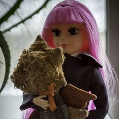 Айка и Дракотик от @zabolotnovamarina  #dollcollection