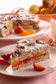 Zdravá ovocná torta Pavlova, Healthy Snacks, French Toast, Muffin, Food And Drink, Low Carb, Cooking, Breakfast, Sweet