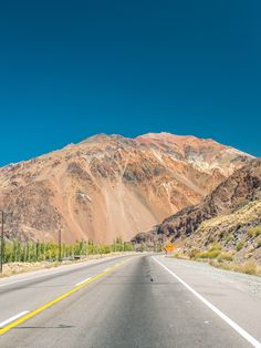 Cruising through the Andes