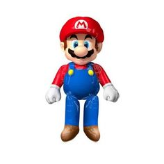 Have Fun with These 12 Awesome Super Mario Party Supplies! Super Mario Party, Super Mario Bros, Super Mario Brothers, Hama Beads Minecraft, Perler Beads, Spiderman, Lego Batman, Birthday Balloon Decorations, Birthday Balloons
