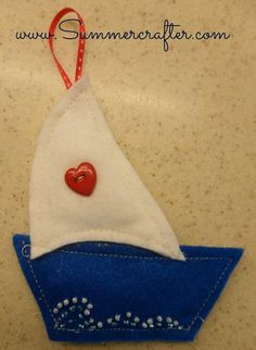 Christmas Once a Month:   Summercrafter BFIAR - My Blue Boat