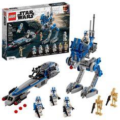 Star Wars Clone Wars, Star Wars Clones, Lego Star Wars 3, Star Wars Set, Star Wars Kylo Ren, Star Wars Toys, 501st Legion, 501st Clone Trooper, Shopping
