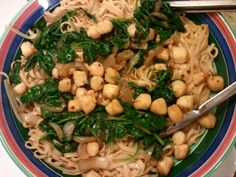 Freshly harvested gulf scallops with carmelized onion, fresh spinach on linguini
