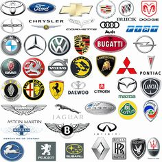 Car Logos Design Cars Sport Cars Automobile