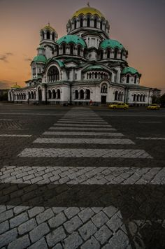 This massive, awe-inspiring church is one of the largest Eastern Orthodox cathedrals in the world. Alexander Nevsky Cathedral is a symbol not just of Sofia but of Bulgaria itself Places Around The World, Oh The Places You'll Go, Travel Around The World, Places To Travel, Places To Visit, Around The Worlds, Travel Destinations, Travel Tips, Sofia Bulgaria
