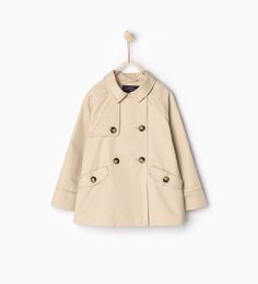 Image 1 of Short trench coat from Zara