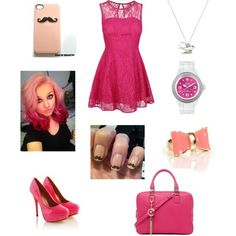pretty in pink ♡
