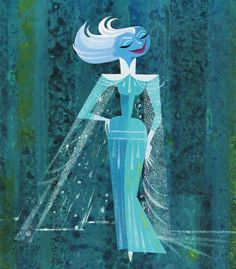 Character Design from Frozen by Michael Giaimo