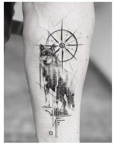 ▷ 1001 + ideas for a beautiful and meaningful compass tattoo - wolf tattoos - . - ▷ 1001 + ideas for a beautiful and meaningful compass tattoo – wolf tattoos – - Compass Tattoo Meaning, Compass Tattoo Design, Wolf Tattoo Design, Wolf Tattoo Meaning, Wolf Design, Body Art Tattoos, Sleeve Tattoos, Heart Tattoos, Tatoos