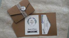 POCKETFOLD+Einladungskarte+Set+Hochzeit+Lavendel+von+Stempel-Kreativ+auf+DaWanda.com