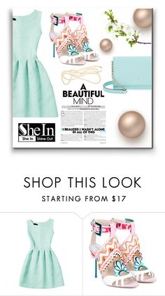 """""""Shein"""" by mediasky ❤ liked on Polyvore featuring Sophia Webster and Kate Spade"""