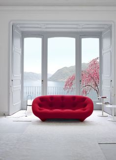 The Ploum sofa, part of a seating collection from Ligne Roset.