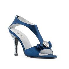 SANDALO #BLU 915_100/3, Wedding & Gala ----- #BLUE SANDAL 915_100/3, Wedding & Gala ----- #Paoul #weddingshoes #galashoes #shoes #womenshoes