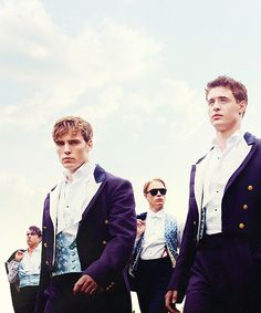 """ The Riot Club: Promotional Poster [x] """