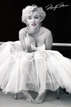 Marilyn Monroe en ballerine