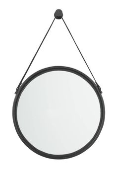 Buy Signature Design by Ashley Dusan Black Accent Mirror Home Decor & Accessories online Black Round Mirror, Round Mirrors, Mirrors With Leather Straps, Cheap Mirrors, Night And Day Furniture, Black Fireplace, Mirror Set, Kids Bath, Black Accents