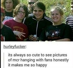 Apparently, Patrick lived with Bob at some point when both MCR and FOB were both bands. If that's true, then they did a lot more hanging out that we just didn't see. It makes me happy.