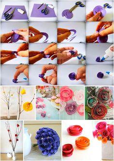 Flores de papel | Casando com Amor | por Bel Ornelas & Myriam Leticia Kalvan