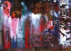 Gerhard Richter : Overpainted Photographs : 1990 - * Visionary Tokyo