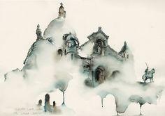 sacre-coeur church in montmartre, paris | Flickr - Photo Sharing!