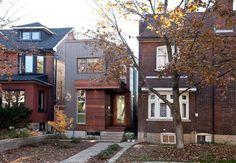 3 lindas casas estreitas e inspiradoras - limaonagua