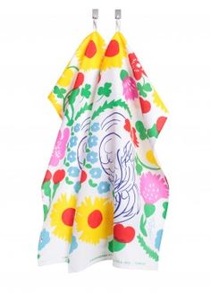 Marimekko dish towels