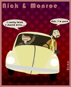 Grimm - Nick + Monroe - Pilot by ~Bisho-s on deviantART