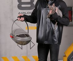 Futuristic Pet Carrier for You and Your Pet