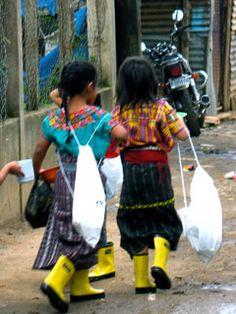 Guatemala Boot Drop! Roma Rainboots
