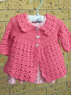 Craft Passions Baby Jacket Free Crochet Pattern Crochet Clothing
