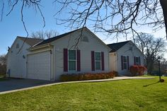 This sunny 3 bedroom, 2 bath, newer split ranch home is a jewel nestled in the Village of Merton. Master suite with walk-in closet. First floor laundry. Bright open floor plan with great room/dining room combo, is perfect for entertaining or spending a cozy night in front of the fire place.  Private back yard has views of rolling fields and is the perfect backdrop for an outdoor barbecue. Walk to the Merton Millpond, school, and quaint shops in the historic village district.