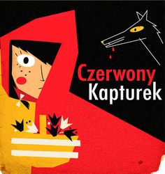 Victoria Fernández , Little Red Riding Hood (entry for 50 Watts' Polish book cover contest)