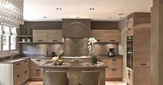 Ideas de cocinas rusticas de lujo de la firma La cuine Francaise, interesante las colecciones de esta empresa familiar...