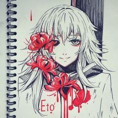 Eto - Tokyo ghoul by AnALIBI