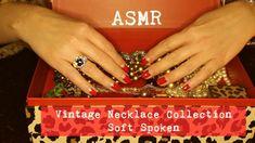 ASMR Vintage Necklace Collection | Soft-Spoken ~ Vintage Series