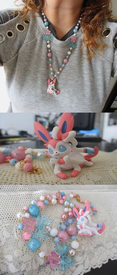 Collar de Sylveon!!!  <3<3<3<3<3