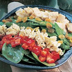 Spinach -  One of the most nutrient-packed vegetables, spring spinach has a refreshing taste. Try this recipe: Asian Spinach Salad. | Health.com