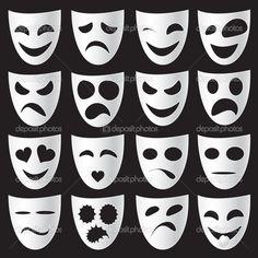 divadelní masky - Hledat Googlem