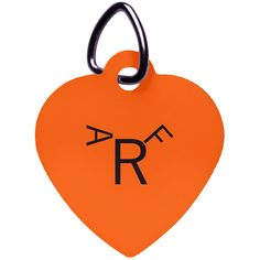 ARF Heart Pet Tag – Optic Poem Design