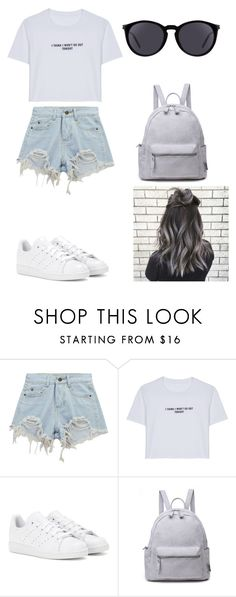 """Untitled #219"" by karenrodriguez-iv on Polyvore featuring Chicnova Fashion, WithChic, adidas and Yves Saint Laurent"