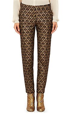 We Adore: The Poumas Crop Pants from Dries Van Noten at Barneys New York