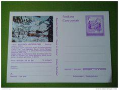 AUSTRIA SAALBACH-HINTERGLEMM SALZBURG SKI STAMP 4S OSTERREICH UNIQUE RARE Old Postcard Picture  RARITY UNUSED/NEUF/MINT - Saalbach