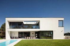 Covered terrace - Villa Casa (OÖ) by HOMETEC  - Austria