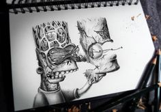 French artist and illustrator Pierre-Yves Riveau , perhaps better known as PEZ Artwork, created this series of drawings, playfully titled Distroy. The graphite drawings seem to depict a number of … Art And Illustration, Popular Cartoons, Famous Cartoons, Cute Cartoon Characters, Favorite Cartoon Character, Disney Characters, Simpsons Drawings, Cartoon Drawings, Simpsons Art