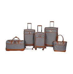 """Love this Jessica Simpson Breton Luggage Collection...desperately need new luggage!! 29"""", 21"""", Duffel & Tote!!"""