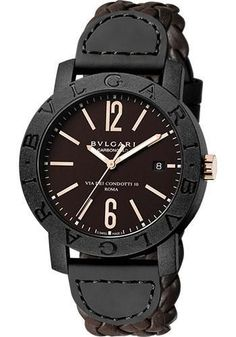 Bulgari - Bulgari Bulgari 40 mm - Carbon Fiber Watch 102633 BBP40C11CGLD